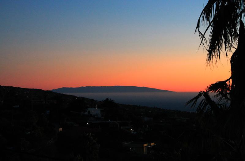El Hierro im Winter von La Palma aus